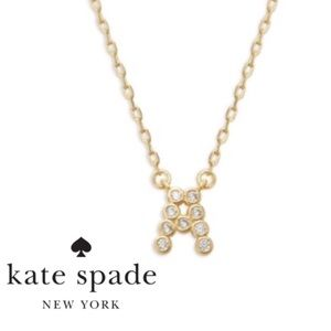 NEW Kate Spade One in a Million Stone A Necklace